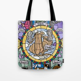 The Adoration of the Squirrel Tote Bag