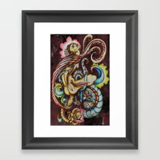 Let it bleed Framed Art Print