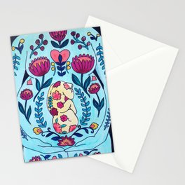 Blooming in Love Stationery Cards