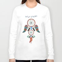 dream catcher Long Sleeve T-shirts featuring DREAM CATCHER by Heaven7