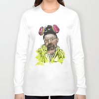 walter white Long Sleeve T-shirts featuring Walter White  by Madows