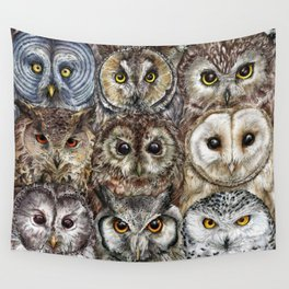 Owl Optics Wall Tapestry