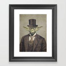 Sir Yodington  Framed Art Print