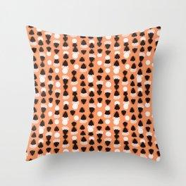 Fringe & Spades Throw Pillow