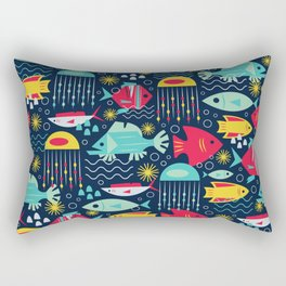 Fishy Rectangular Pillow