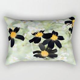 Wild Flowers XVII Rectangular Pillow