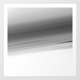 Gray Smooth Ombre Art Print