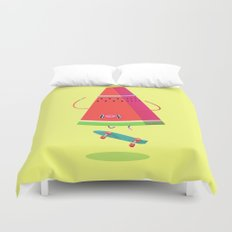 Lords of Foodtown Duvet Cover