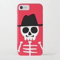 skeletor iPhone & iPod Cases featuring El Skeletor by David Allart