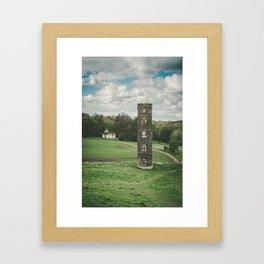 Cammo Tower Framed Art Print