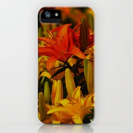 Lillies iPhone Case