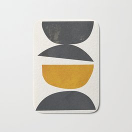 abstract minimal 23 Bath Mat