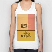 tenenbaum Tank Tops featuring Three Plays By Margot Tenenbaum by FunnyFaceArt