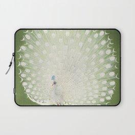 Peacock (1925 - 1936) by Ohara Koson (1877-1945) Laptop Sleeve