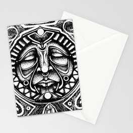 Shamanic trance Stationery Cards