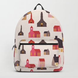 christmas village Backpack