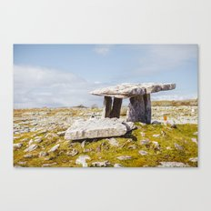 Poulnabrone Dolmen, Clare, Ireland Canvas Print