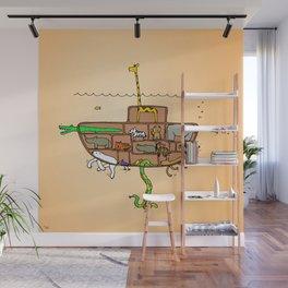 Noah's Ark Submarine, Wall Art, Nursery Decor, Wall Art for Boys Room Wall Mural