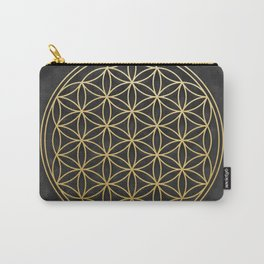 The Flower of Life Carry-All Pouch