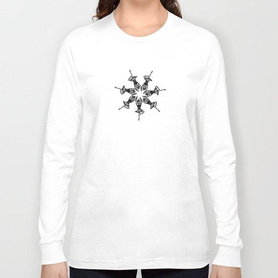 Les Chats De Ballet Noel Long Sleeve T-shirt