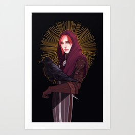 Leliana Dragon Age Art Print