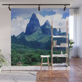 The Land That Time Forgot: Marquesas Tropical Islands Wall Mural