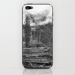 Birch Hallow, Teton Mountains iPhone Skin