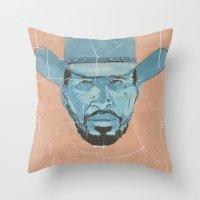 django Throw Pillows featuring Django by kjell
