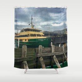 Queenscliff Sydney Ferry Shower Curtain