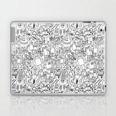 Infinity Robots Black & White Laptop & iPad Skin