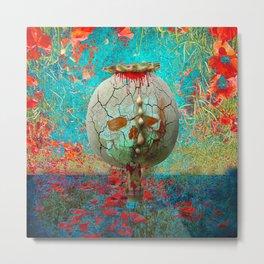 opium field Metal Print