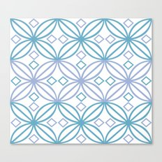 Lattice Canvas Print
