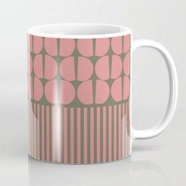 Moderno Mauve/Brown Coffee Mug