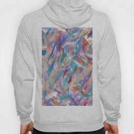 Painterly Color Expression Hoody