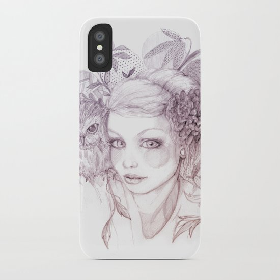 Felt Heart iPhone Case