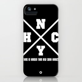 New York hardcore iPhone Case