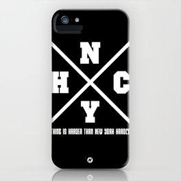 New York hardcore iPhone Case