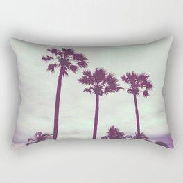 Cali Palm trees Rectangular Pillow