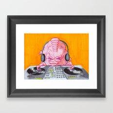 DJ Krang Framed Art Print