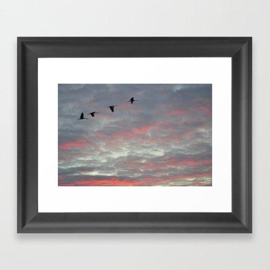 Sunrise Express Framed Art Print