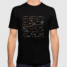 WW2 Weapons Pattern T-shirt
