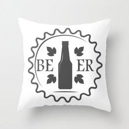 Beer style Fashion Modern Design Print! Throw Pillow