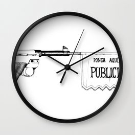 Bang Bang Wall Clock