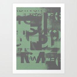 Typefart 002 Art Print