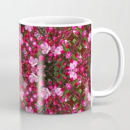 Spring blossoms kaleidoscope - Strawberry Parfait Crabapple Coffee Mug