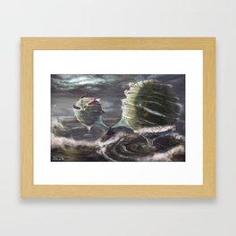 Deep Summons Framed Art Print