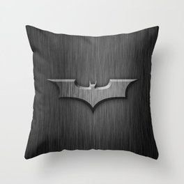 Bat in The Shadow Throw Pillow