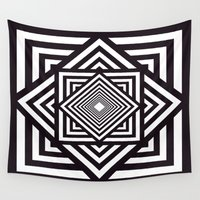 running Wall Tapestries featuring Running Out by Cs025