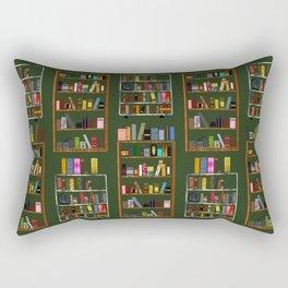 For The Love Of Books Rectangular Pillow