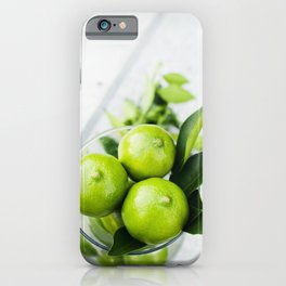 Limes iPhone Case